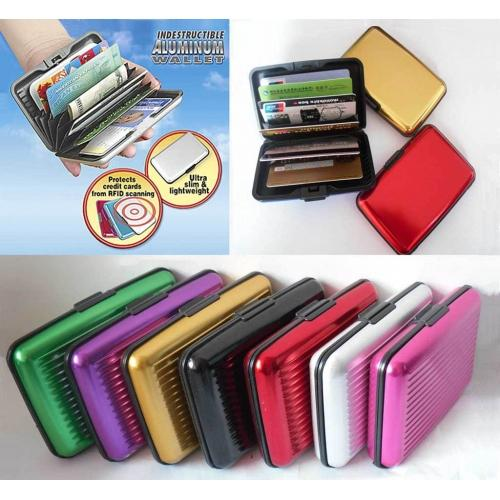 MULTI ALUMINIUM BUSINESS ID CREDIT DEBIT CARD GUARD HOLDER CASE UNISEX