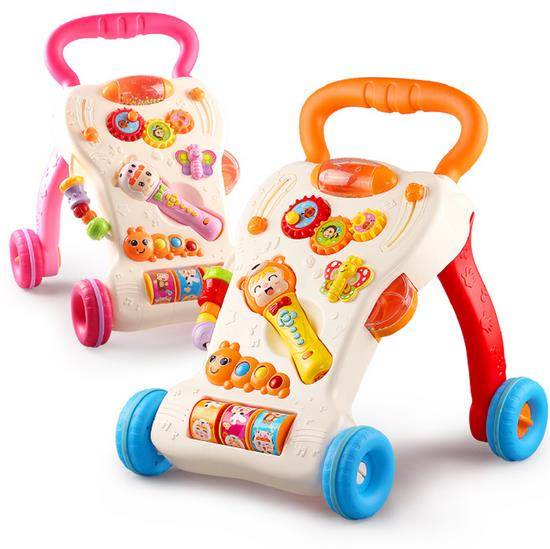 Multi Function Music + Baby Walker + Adjustable Speed + Play Toys