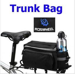 New Multi-functional Bicycle Rear Seat Trunk Bag