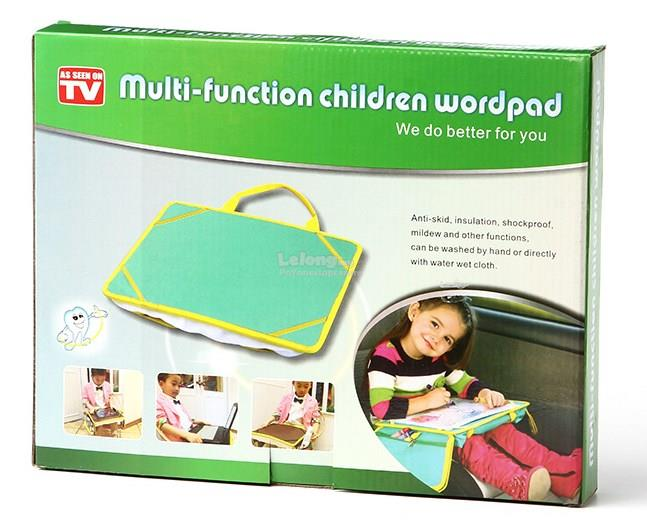 Multi-functional Children Wordpad Children Bed Car Desk Eazy Carry