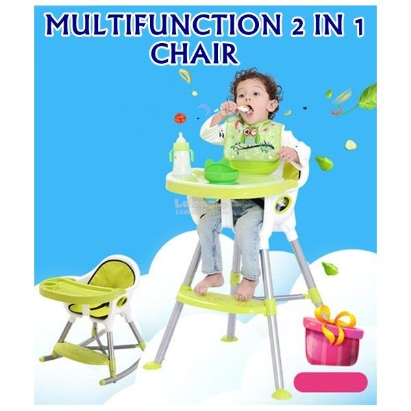 Multifunction 2 in 1 Portable Baby Chair