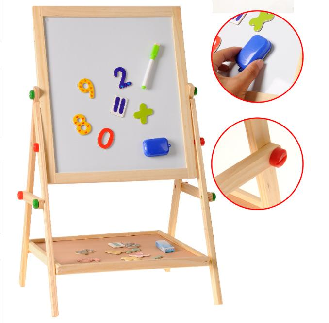 Multifunction Double Sided Magnetic Drawing And Writing Board For Chil