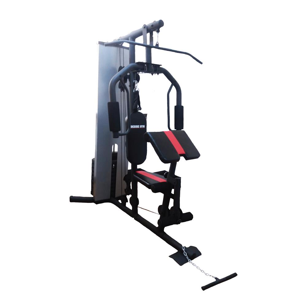 Multifunction Professional Royal Home Gym With 66kg Weight Stack