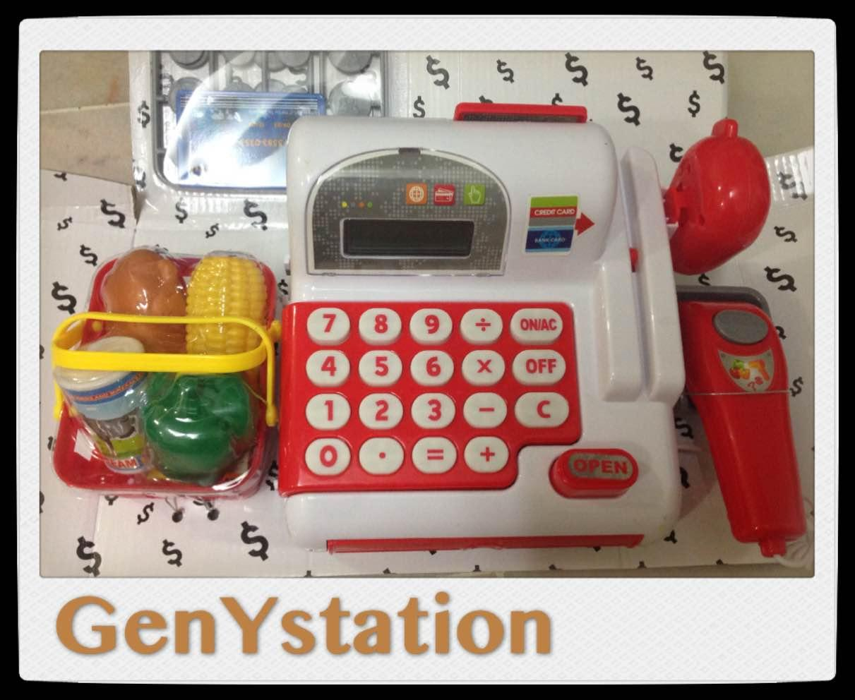 Multifunctional Cash Register Toy Set