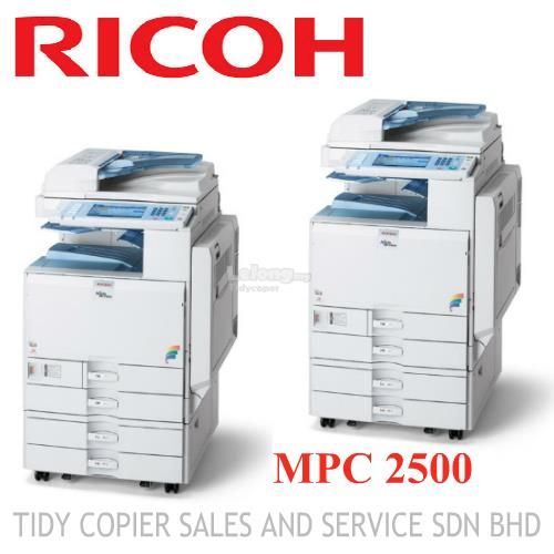 MULTIFUNCTIONAL COPIER MACHINE MPC 2500 ( 019 3619503 )