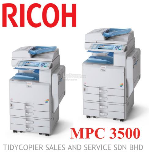 MULTIFUNCTIONAL COPIER MACHINE MPC 3500