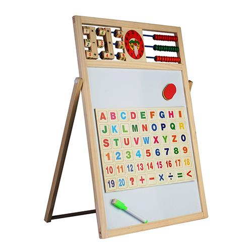Multipurpose Big Double-Sided Magnetic Wooden Writing Drawing Board