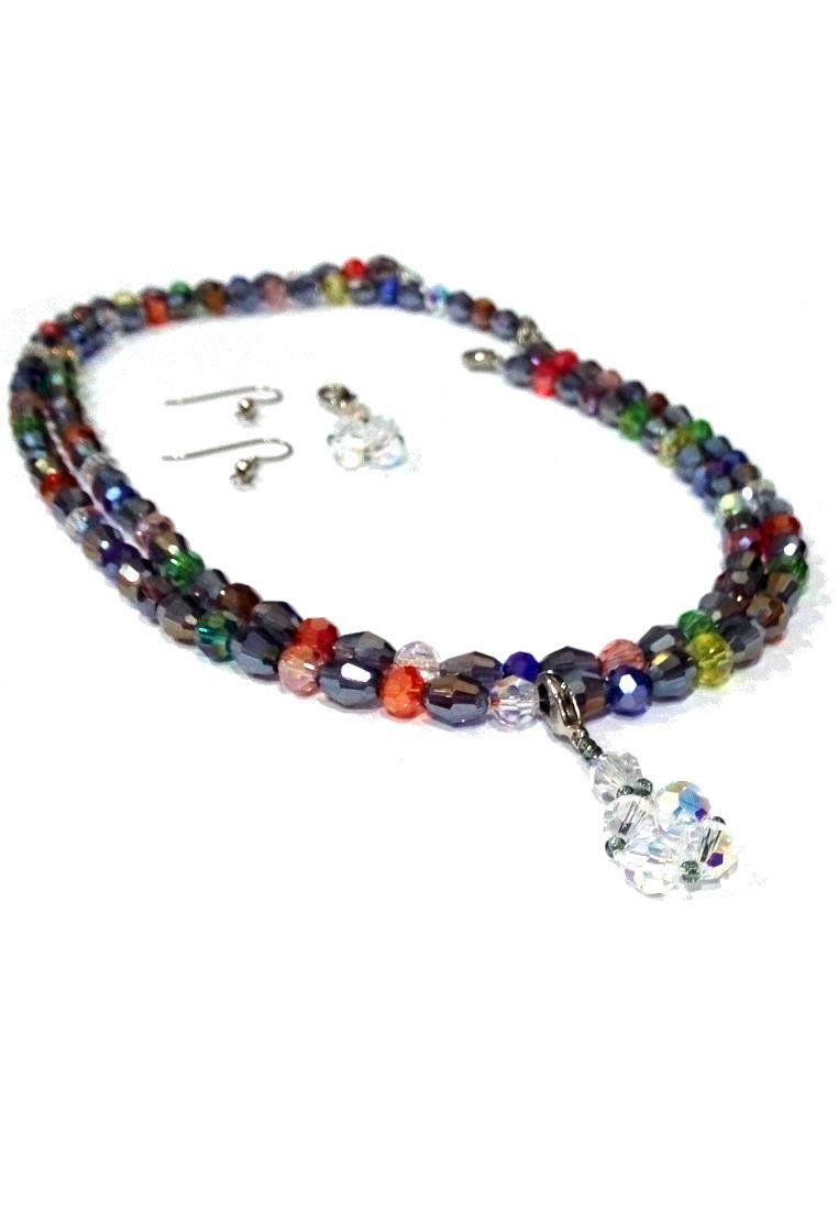 Multipurpose Crystal AB with Swarovski Round Crystal AB