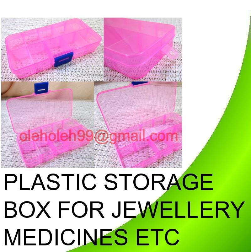 Multipurpose Storage Box Medicine Jewellery Organizer Storage Holder