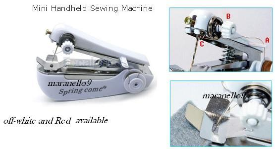 Multipurpose Wireless , Durable & Portable Mini Sewing Machine .