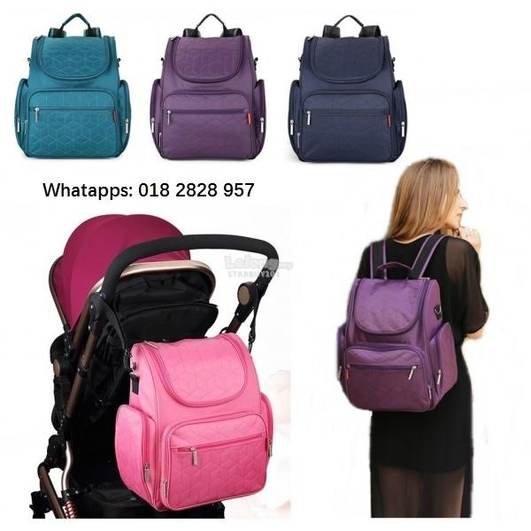 Mummy Diaper Bag Nice design with useful space and compartment 4colors