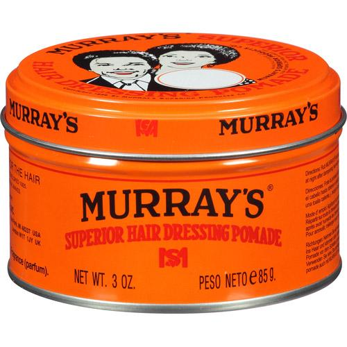 Murray's Superior Hair Dressing Pomade 3oz For Men's Hair