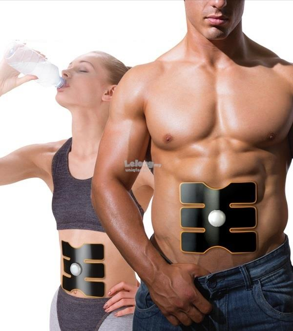 NEW Muscle Training SIX PACK TRAINER Belt Electronic Waist Massager