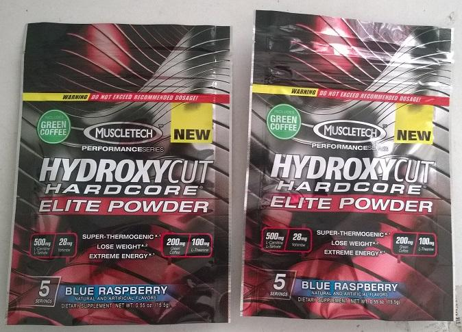 Muscletech Hydroxycut Powder (keras serbuk / harden) 30 Serving