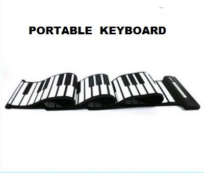 [ Musical Life] Portable Folding Keyboard PN-88