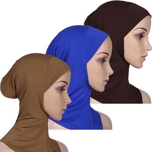 Muslimah Soft Full Cover Inner Hijab Cap Underscarf - FREE SHIPPING
