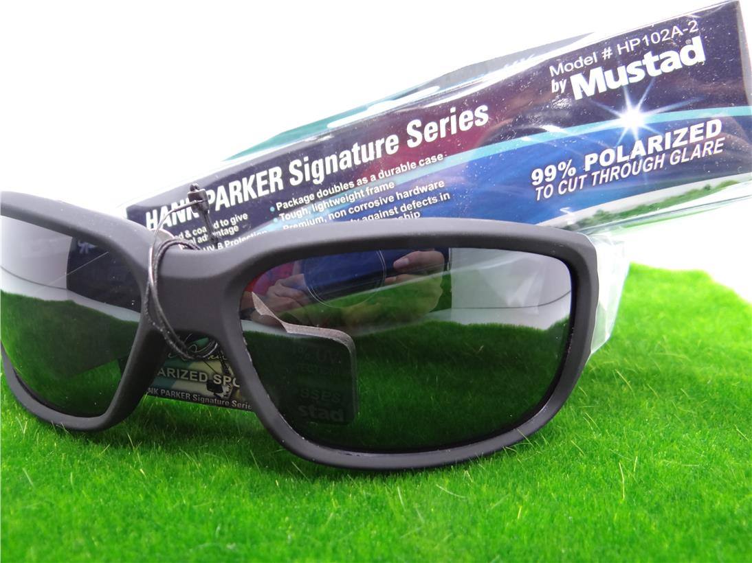Mustad Hank Parker Signature Series Sunglasses #HP102A-2