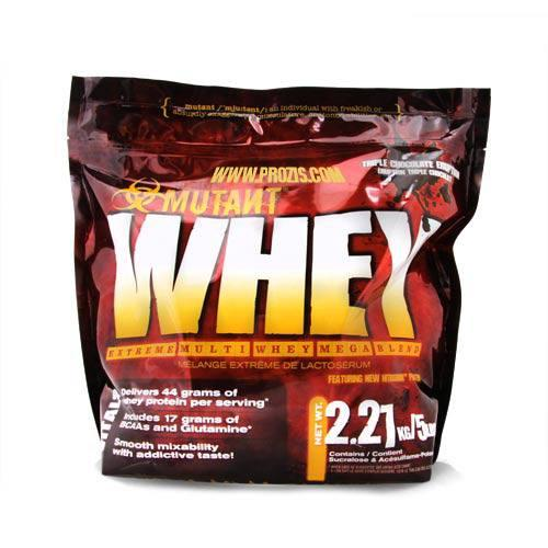 Mutant Whey Protein Powder (5Lbs)