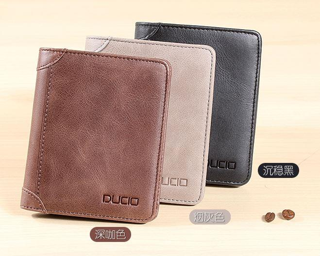 MW17 KOREAN Style Men High Quality Long Leather  Wallet