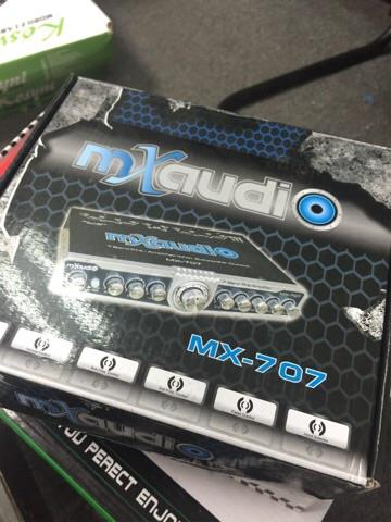MX Audio 7 band car pre amp