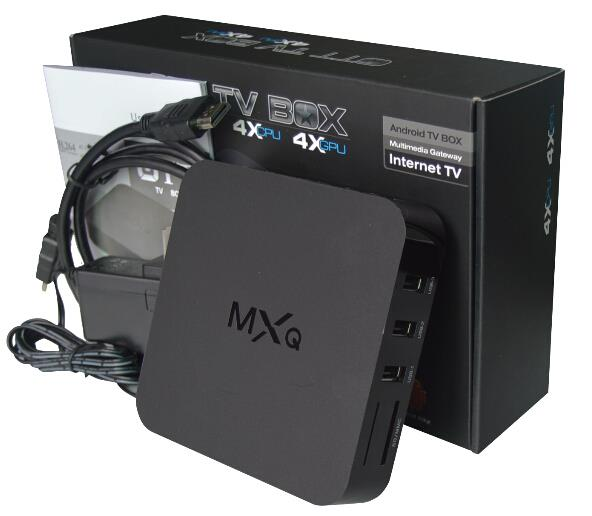 MXQ Android TV Box XBMC Streaming Android 4.4 1G 8G