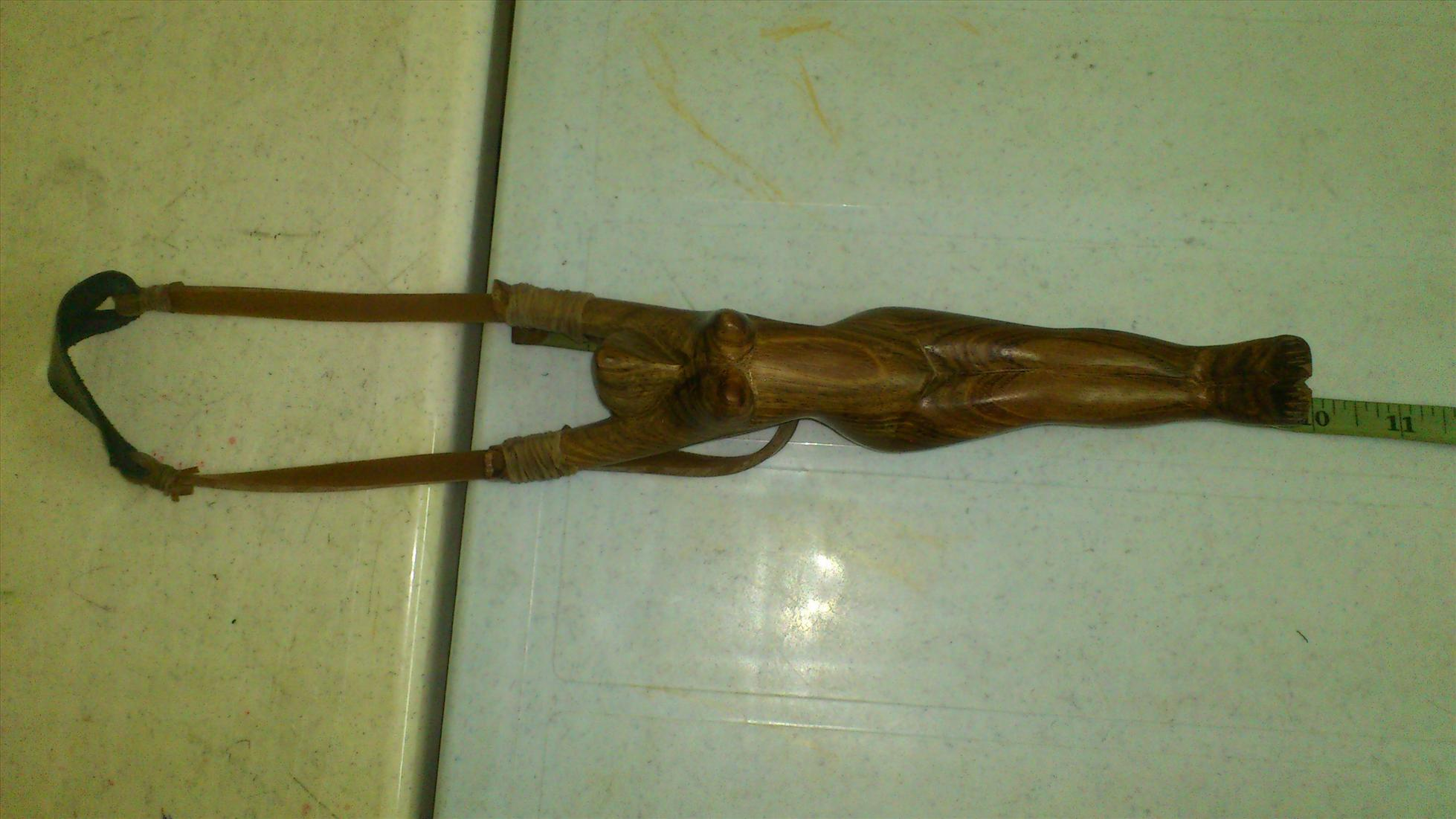 MYAMMAR  - LASTIK KAYU - Women Shape Wood Craft
