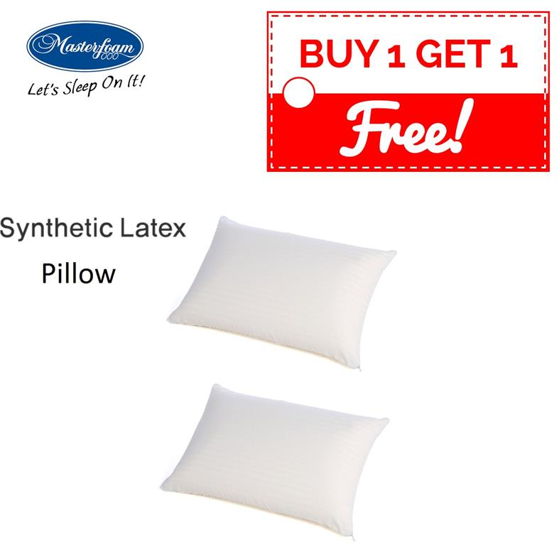 mycybersale ! buy 1 free 1 Masterfoam Synthetic Latex Foam Pillow