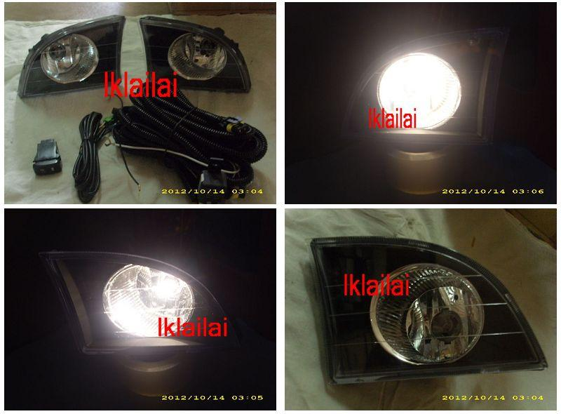 MYVI PASSO Crystal Fog Lamp / Spot Light [BLACK]