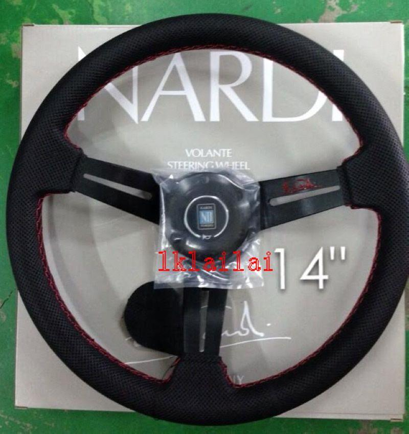 NARDI Leather Steering Wheel 14 inch