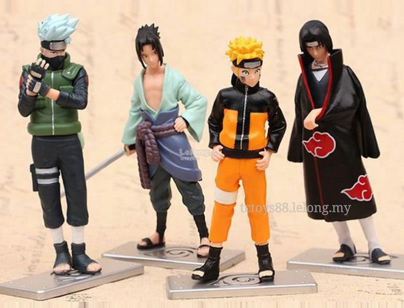 NARUTO Action Figure 12cm. Naruto figure toy. 4pcs set