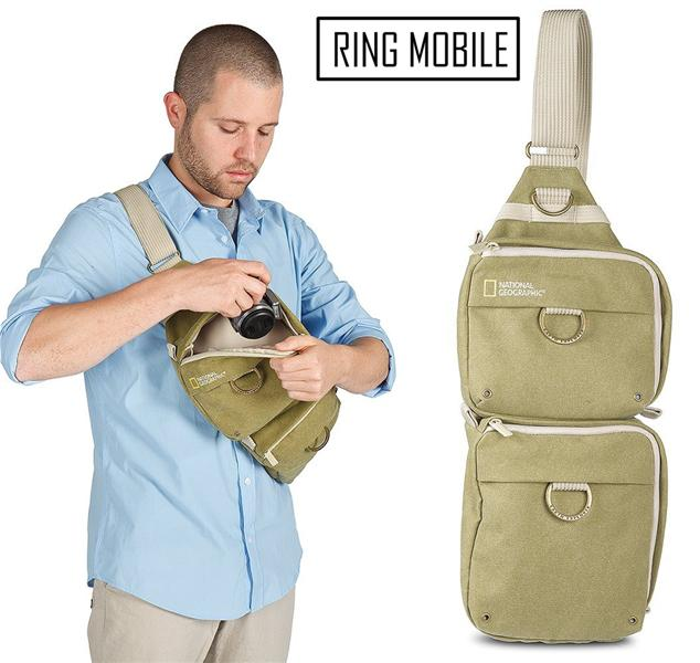 National Geographic Earth Explorer Collection Sling Bag - NG 4475