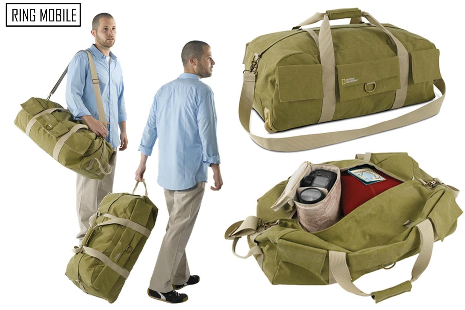 National Geographic Earth Explorer Rolling Duffel Bag - NG 6130