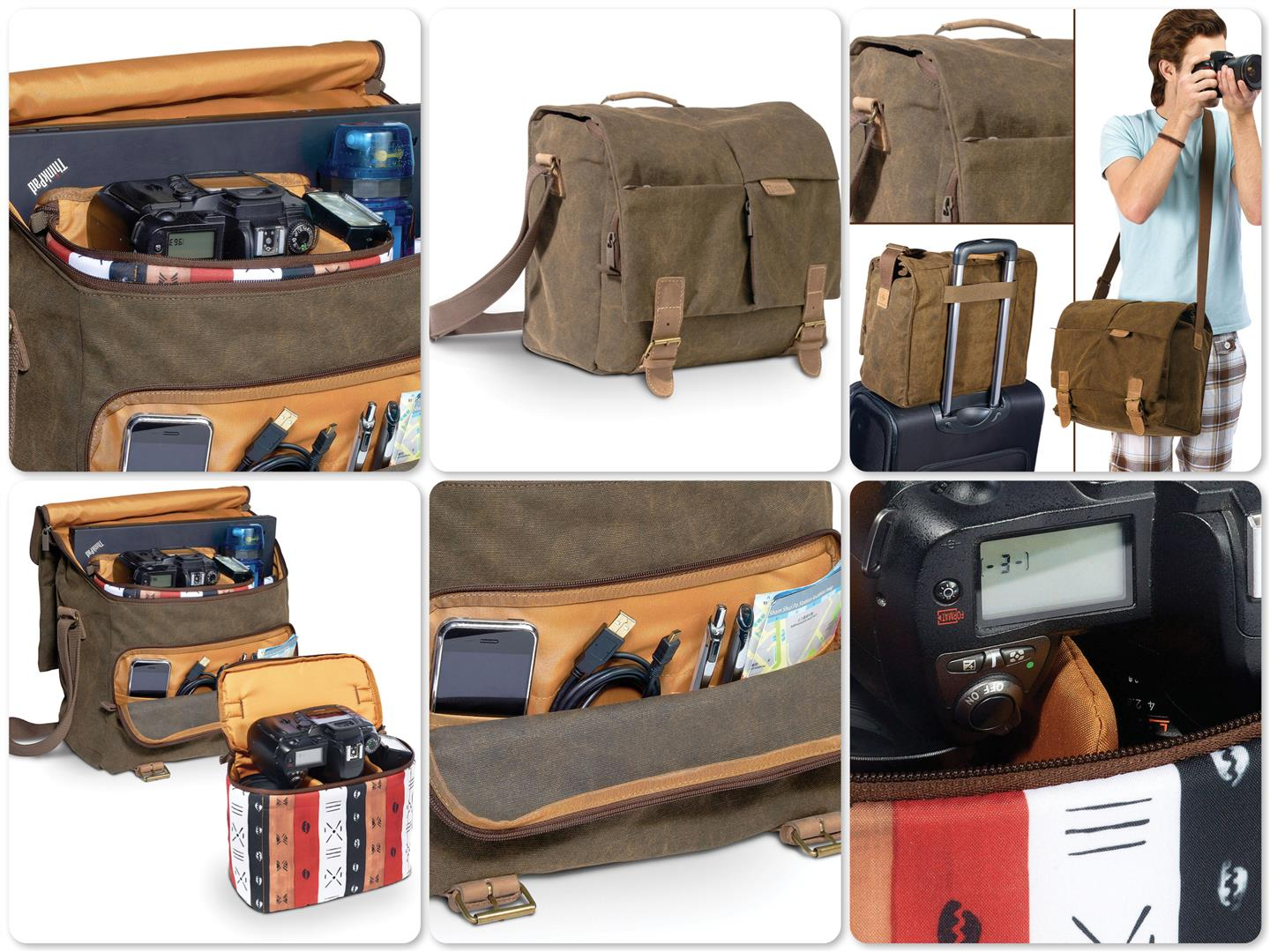 National Geographic NG A2560 Africa Medium Satchel