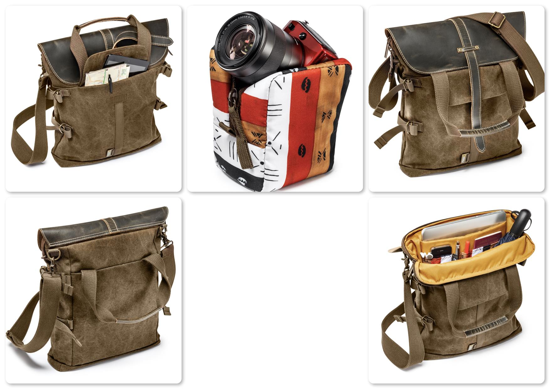 National Geographic NG A8121 Africa Medium Tote Bag with Small Pouch