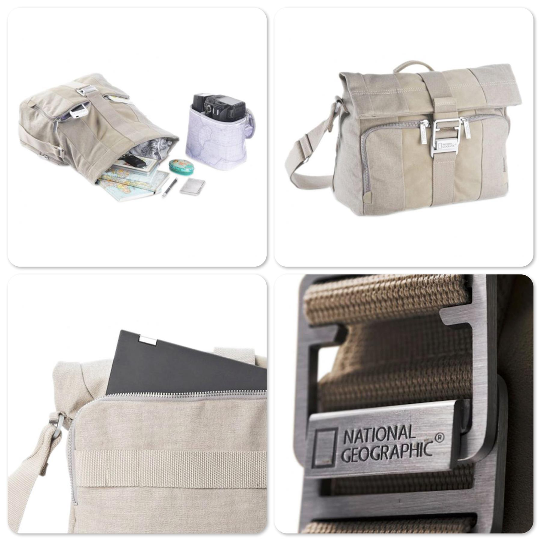 National Geographic NG P2120 Private Collection Midi Messenger Bag