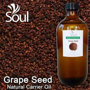 Natural Carrier Oil Grape Seed - 500ml