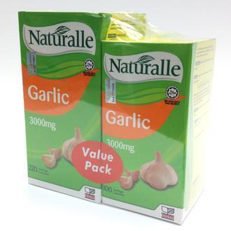 Naturalle Garlic 3000mg Value Pack (220+220's) (Boost Immune System)