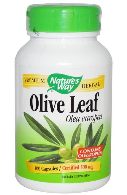 Nature's Way, Olive Leaf, 100 Capsules (Chepeast and Import from USA)