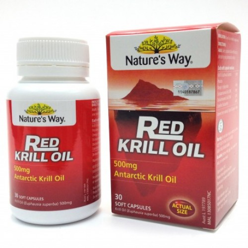 Natures Way Red Krill Oil