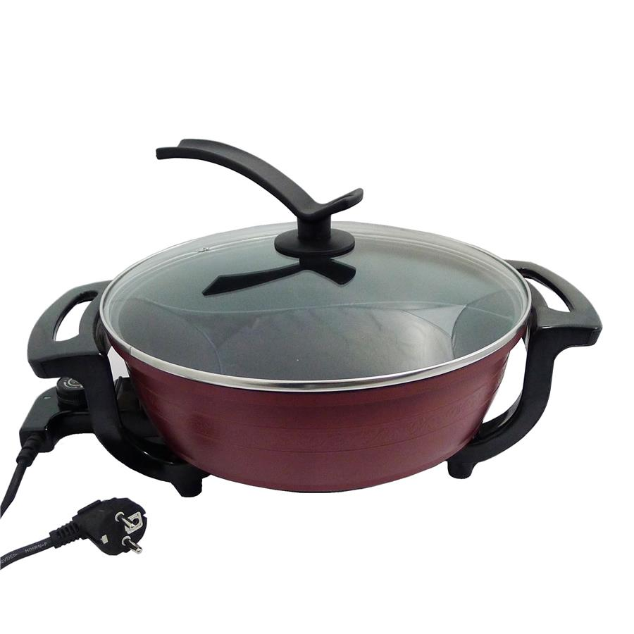 NAVITASS Non-Stick Dual Sided Electric Shabu-Shabu Steamboat Cooker