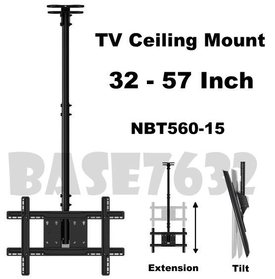 NB NBT560-15 32 to 57  Inch LCD TV Wall Ceiling Mount Bracket Holder