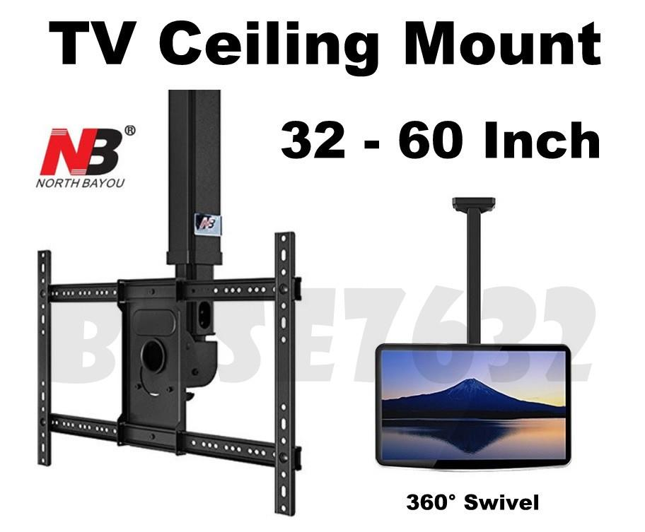 NB T3260 32 to 60 Inch TV Swivel Wall Ceiling Mount Bracket Holder