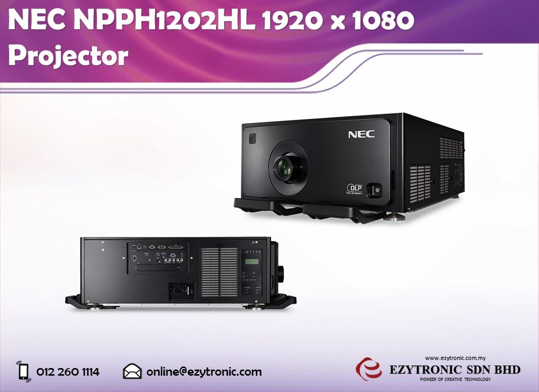 NEC NPPH1202HL 1920 x 1080 Projector