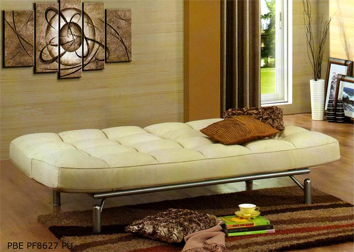 Nelly white pu sofa bed kuala lumpur end time 10 31 2014 8 15 00 pm myt for Sofa bed kuala lumpur