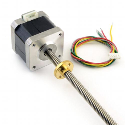 NEMA17 Leadscrew Stepper Motor with 8mmx300mm Linear Shaft