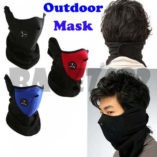 Neoprene Motorcycle Cycling Outdoor Face Mask Sport  Cover Protection