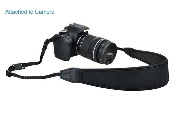 Neoprene Professional Shoulder / Neck Strap for Digital DSLR Camera
