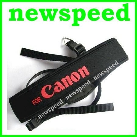 New Neoprene Soft Shoulder Neck Strap for Canon DSLR Digital Camera