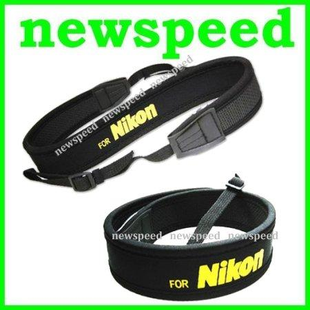 New Neoprene Soft Shoulder Neck Strap for Nikon DSLR Digital Camera