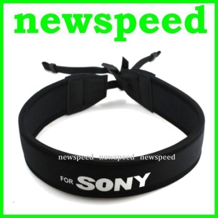 New Neoprene Soft Shoulder Neck Strap for Sony DSLR Digital Camera
